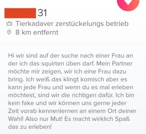 Tinder Profil