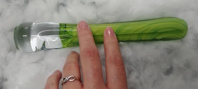 glanzstück-glas Groove Green im Profil
