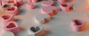 Erotischer Valentinstag mit Herz