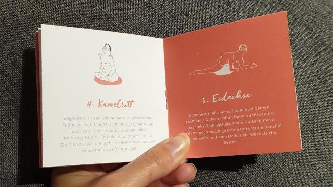 Booklet mit Yoni-Yoga Übrungen