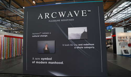 Arcwave auf der eroFame
