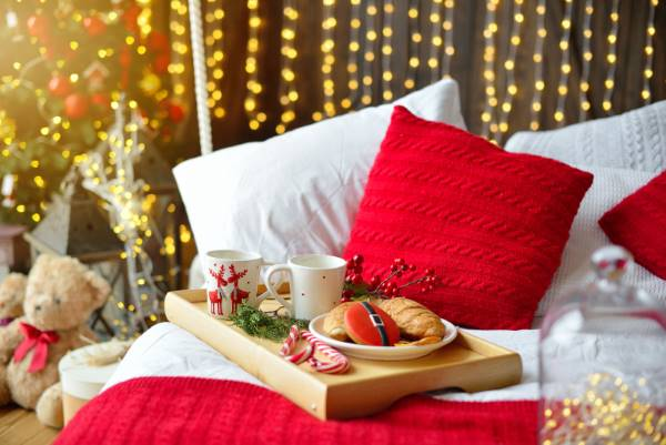 DIY-Adventskalender Frühstück im Bett